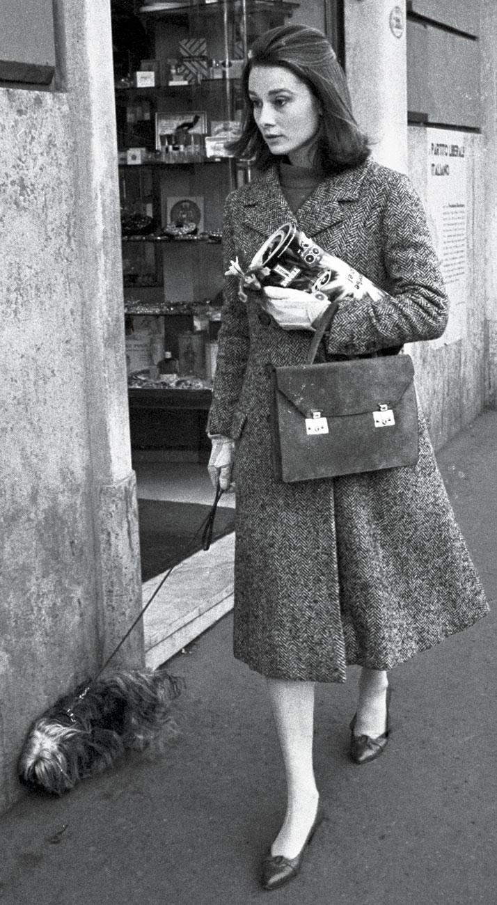 Audrey Hepburn - Gucci Bag