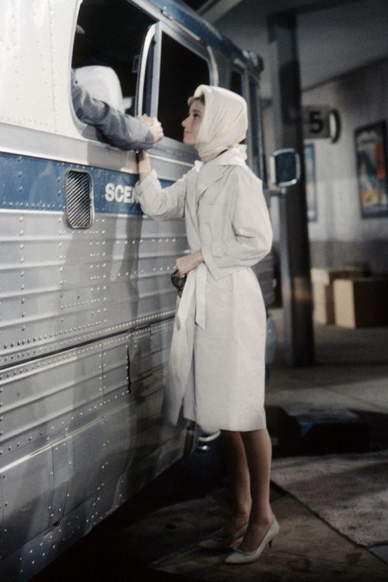 Audrey Hepburn con foulard